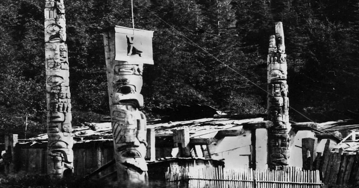 """Haida matriarchs oppose luxury fishing lodge reopenings by """"occupying"""" ancient villages"""