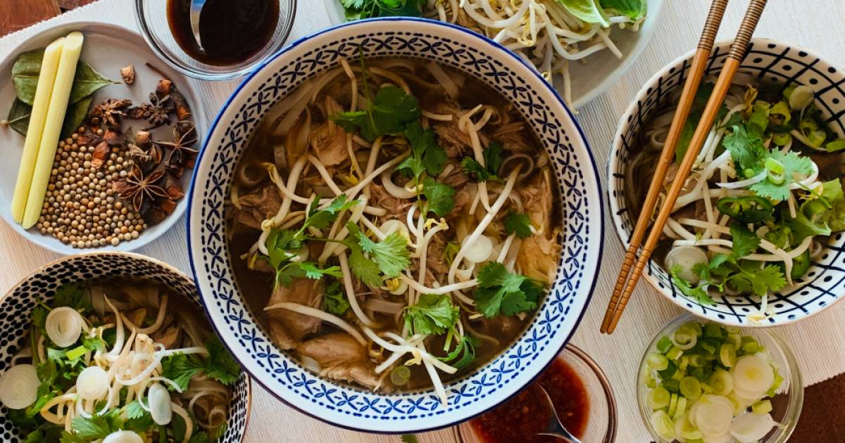 Sustainable holiday recipes: Make pho ga tay (Vietnamese turkey noodle soup) from leftover turkey