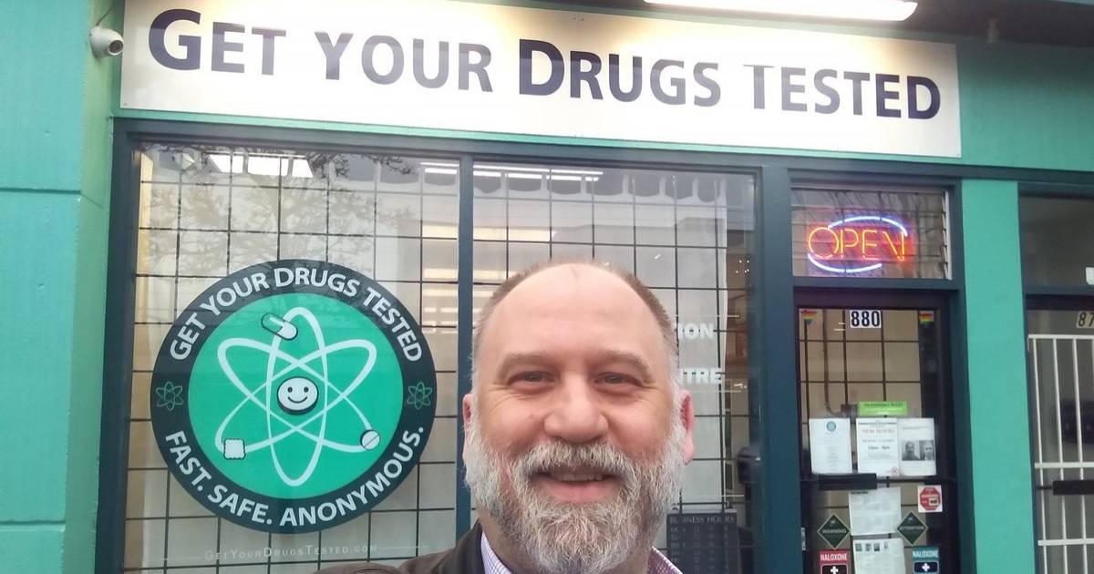 Dana Larsen: 10,000 street drug samples analyzed in Vancouver