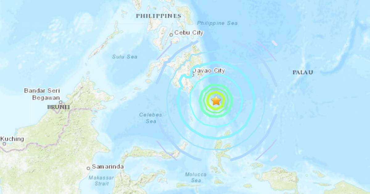 Strong earthquake shakes Philippines and northern Indonesia on January 21