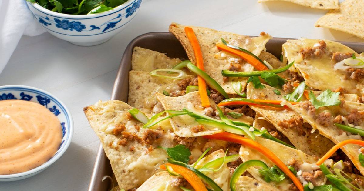 Snacking recipe: Vietnam meets Mexico in these bánh mì nachos