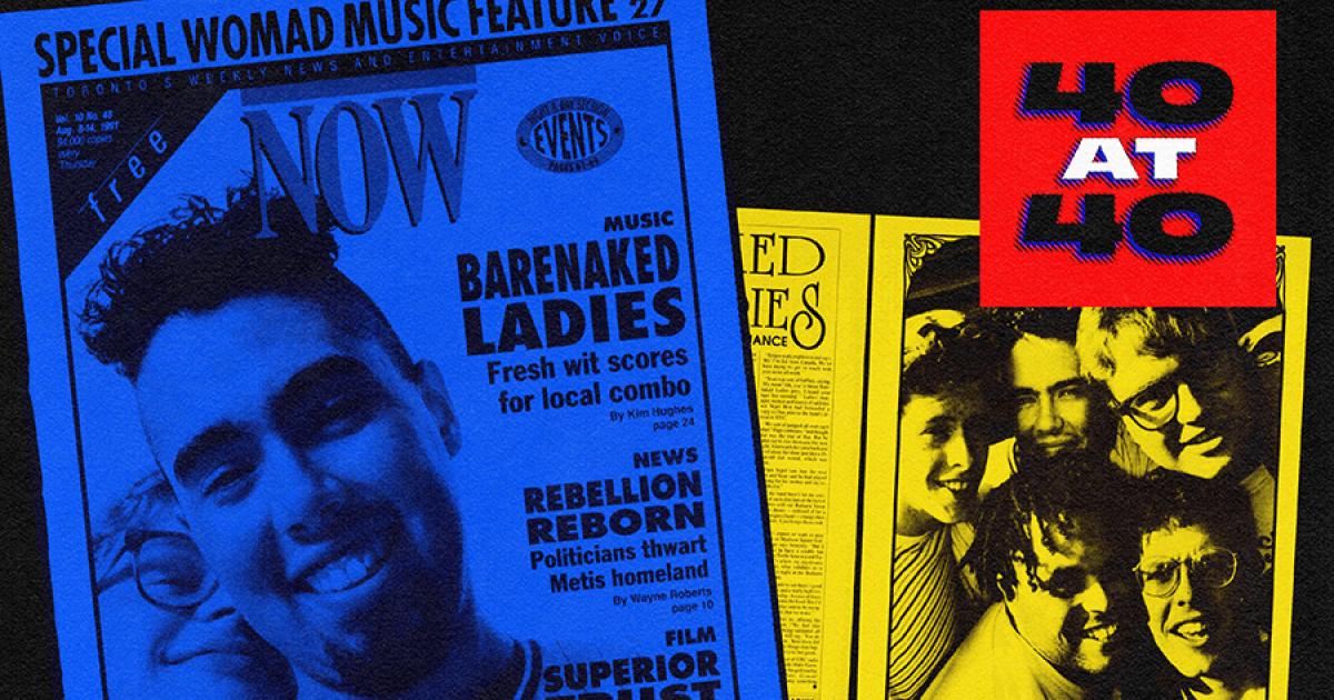 Remember when Barenaked Ladies were indie rock trailblazers?
