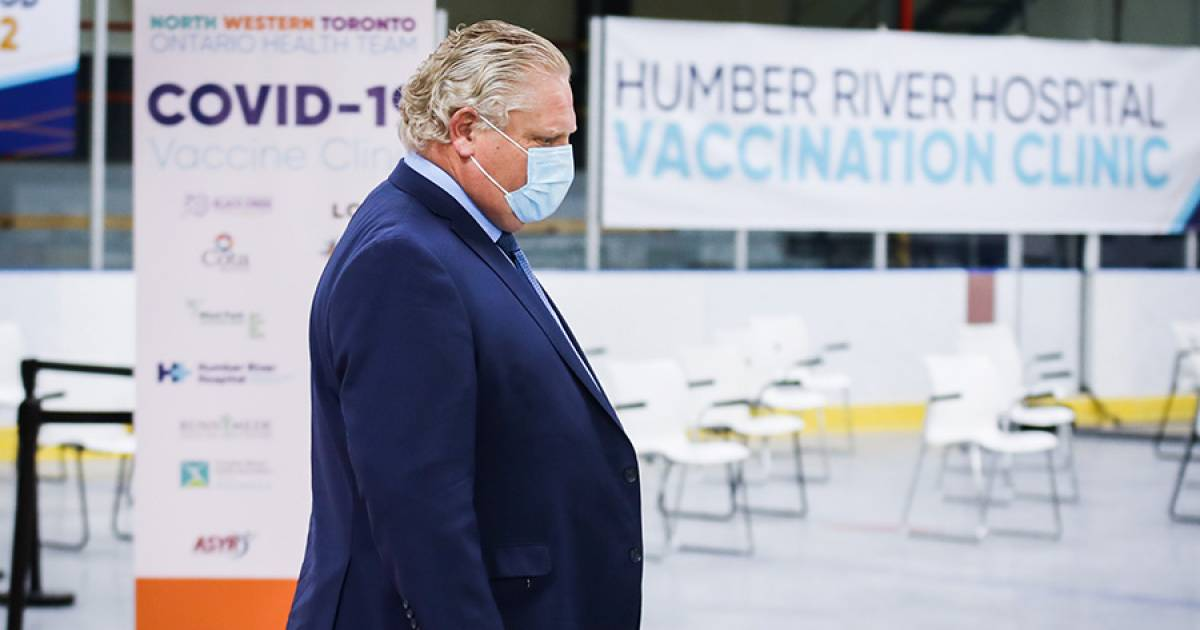 COVID-19 in Canada: Ontario Premier Doug Ford goes into hiding as his handlers try to figure out their next move