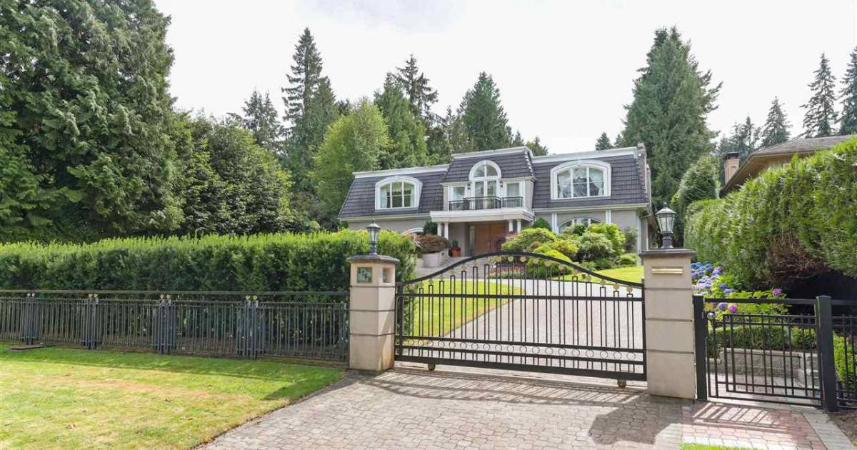 """Vancouver real estate: home sold for $14.6 million, other May 2021 deals show market """"still in orbit"""""""