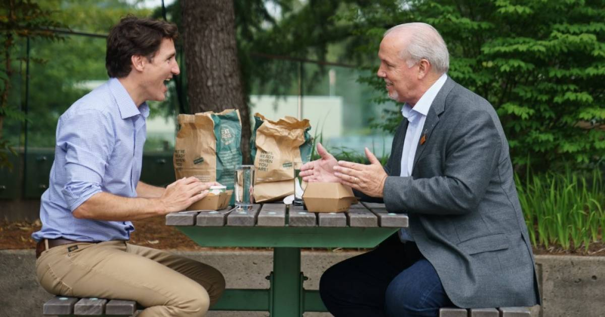 Justin Trudeau puts the squeeze on NDP Leader Jagmeet Singh with help of provincial NDP government