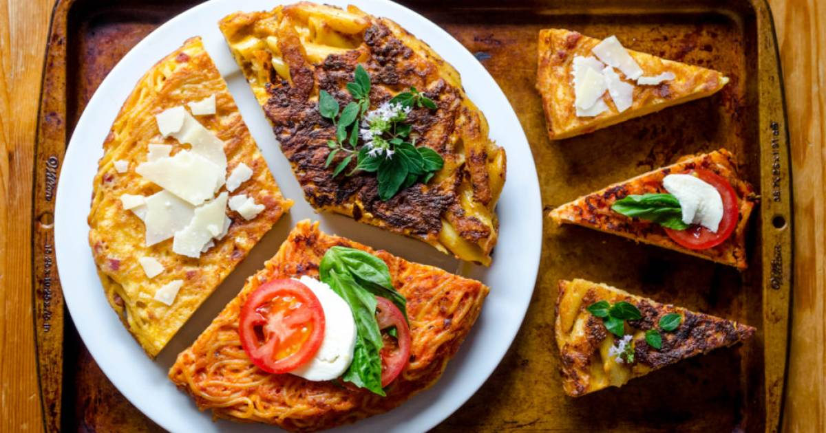 B.C. brunch recipe: How to transform leftovers into frittata di pasta, with three variations