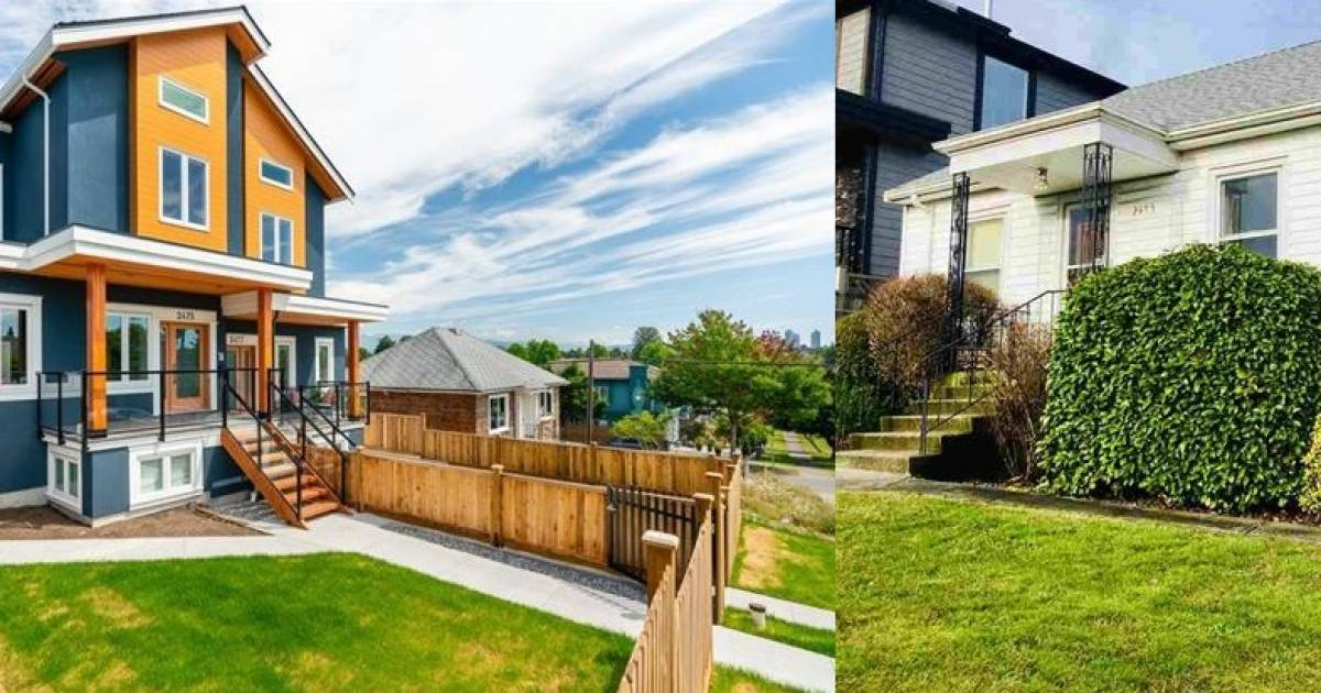 East Vancouver duplex sells for $3.3 million or 148 percent more than original detached home