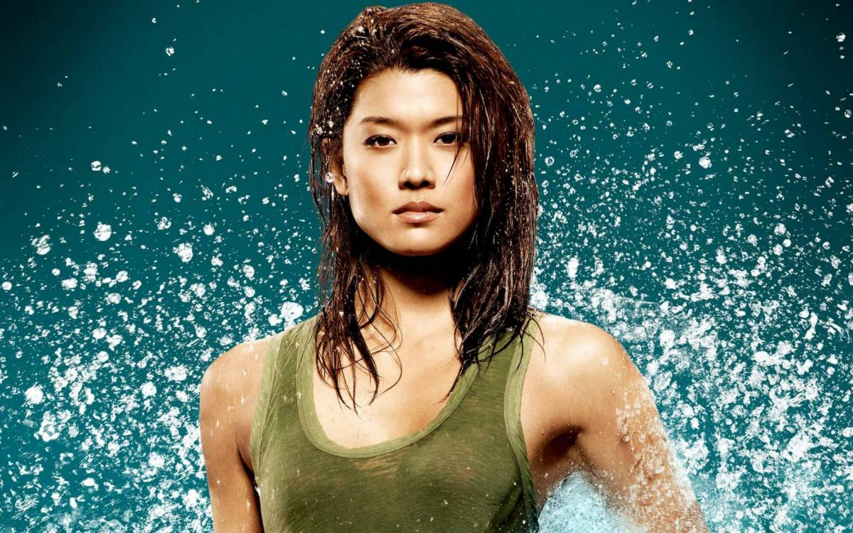 Grace Park photoshoot