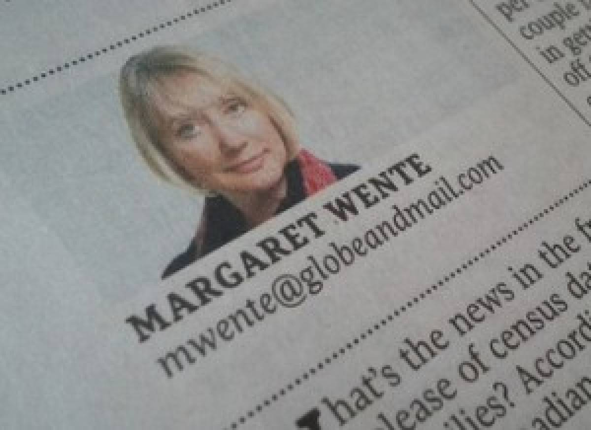 Margaret Wente was given a podium on the <em>Globe and Mail</em>'s opinion pages for two decades before accepting a buyout in 2019.