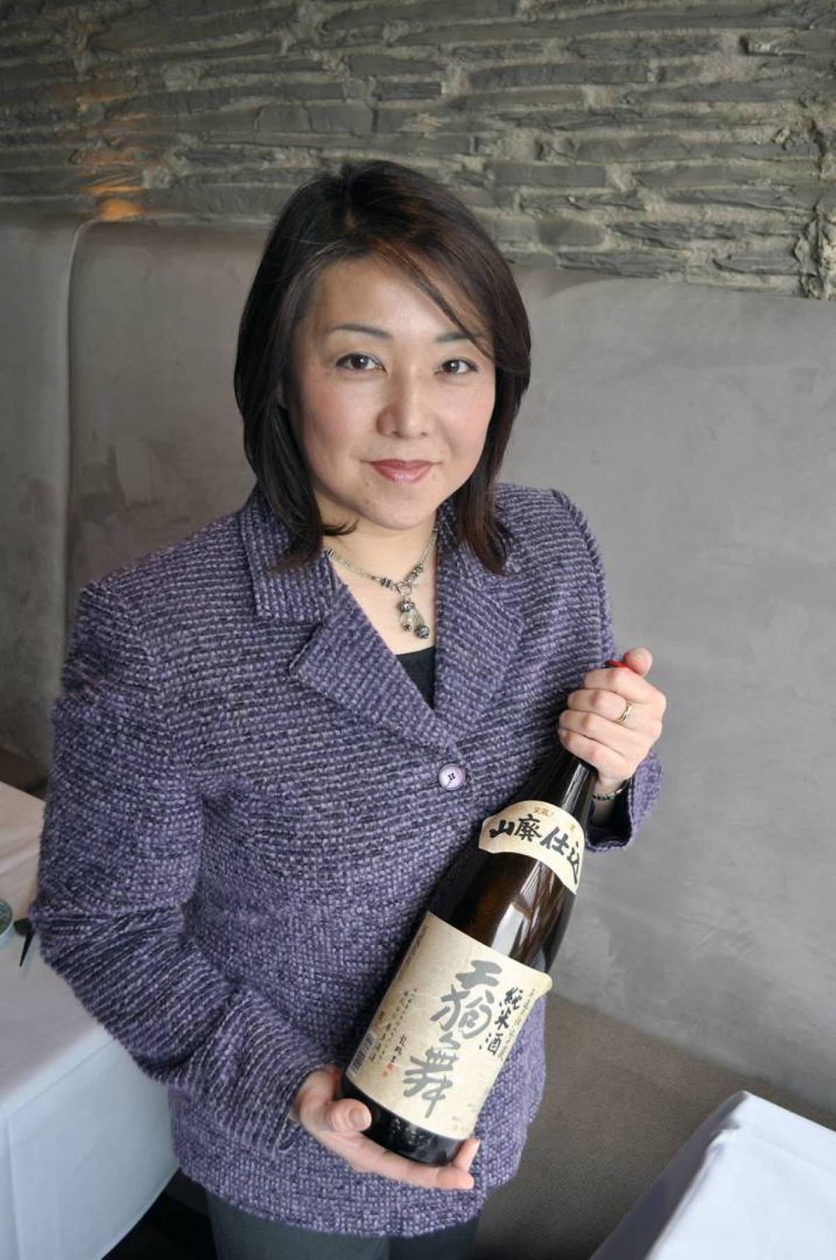 Iori Kataoka, owner of Yuwa, Photo from Georgia Straight