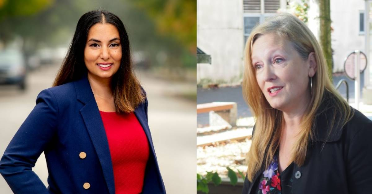 First-time provincial candidate Niki Sharma won a landslide victory in Vancouver-Hastings, whereas political newcomer Brenda Bailey defeated a former mayor in Vancouver–False Creek.