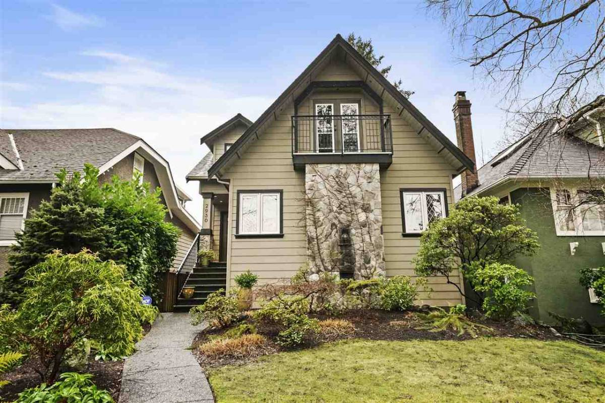 Keller Williams Realty VanCentral listed this property at 2930 West 28<sup>th</sup> Avenue for $2,399,000, and it sold for $2,950,000.