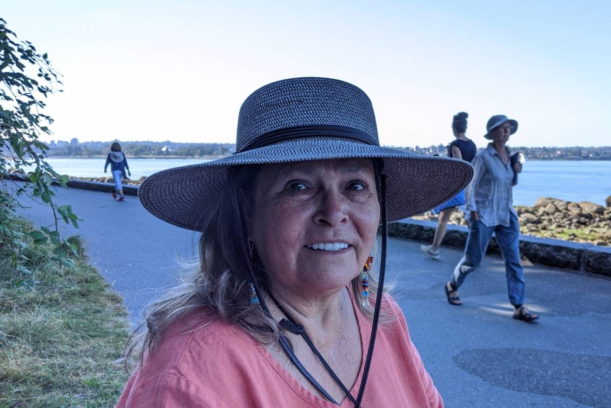Margo Kane(Cree/Saulteaux), the artistic manager director and founder of Full Circle: Firsts Nations Performance.