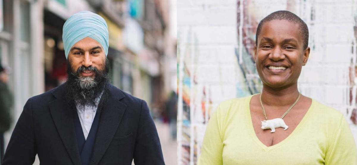 To date, NDP Leader Jagmeet Singh and Green Leader Annamie Paul have not demonstrated that they're willing to cooperate for the benefit of the planet.