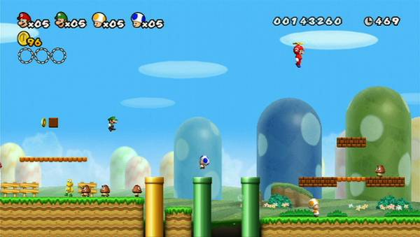 Canada S First Look At New Super Mario Bros Wii Georgia