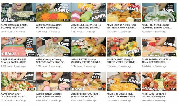 Victoria Based Youtuber Racks Up Over A Billion Views With Asmr Eating Videos Georgia Straight Vancouver S News Entertainment Weekly You'll find a variety of asmr videos covering numerous triggers. billion views with asmr eating videos